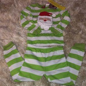 Two-piece Christmas pajama set